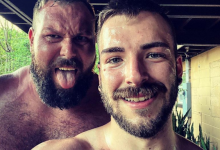 Photo of El luchador gay Mike Parrow nos sorprende con fotos de su boda