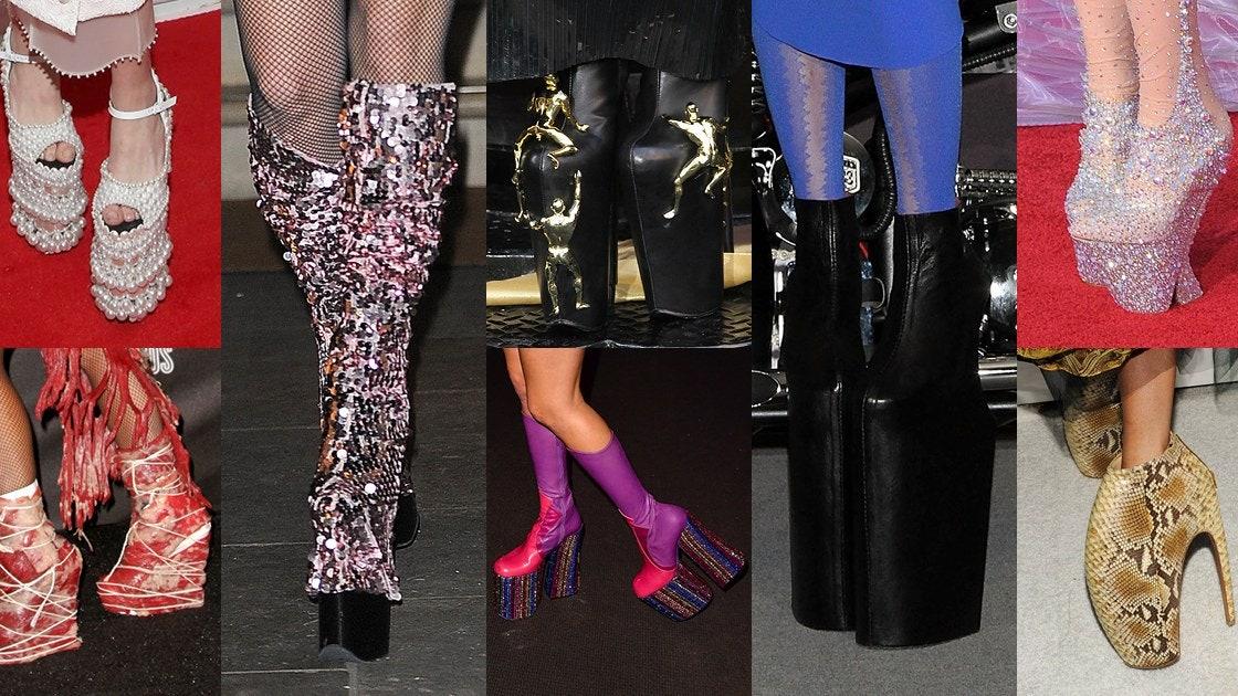 Lady Gaga tacones