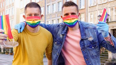 Photo of Mascarillas LGTB contra la LGTBIfobia en Polonia