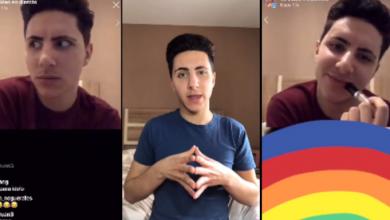 Photo of Un joven LGTB+ difunde las amenazas que recibe a diario en Instagram