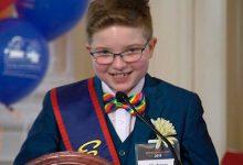 Photo of Ella Briggs, una niña lesbiana de 12 años que quiere ser la futura presidenta de EEUU