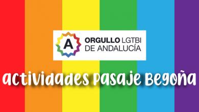 Photo of Orgullo LGTB+ Sevilla 2020: Programación actividades Asociación Pasaje Begoña