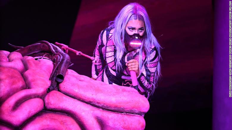 Lady Gaga VMA's Rain On Me