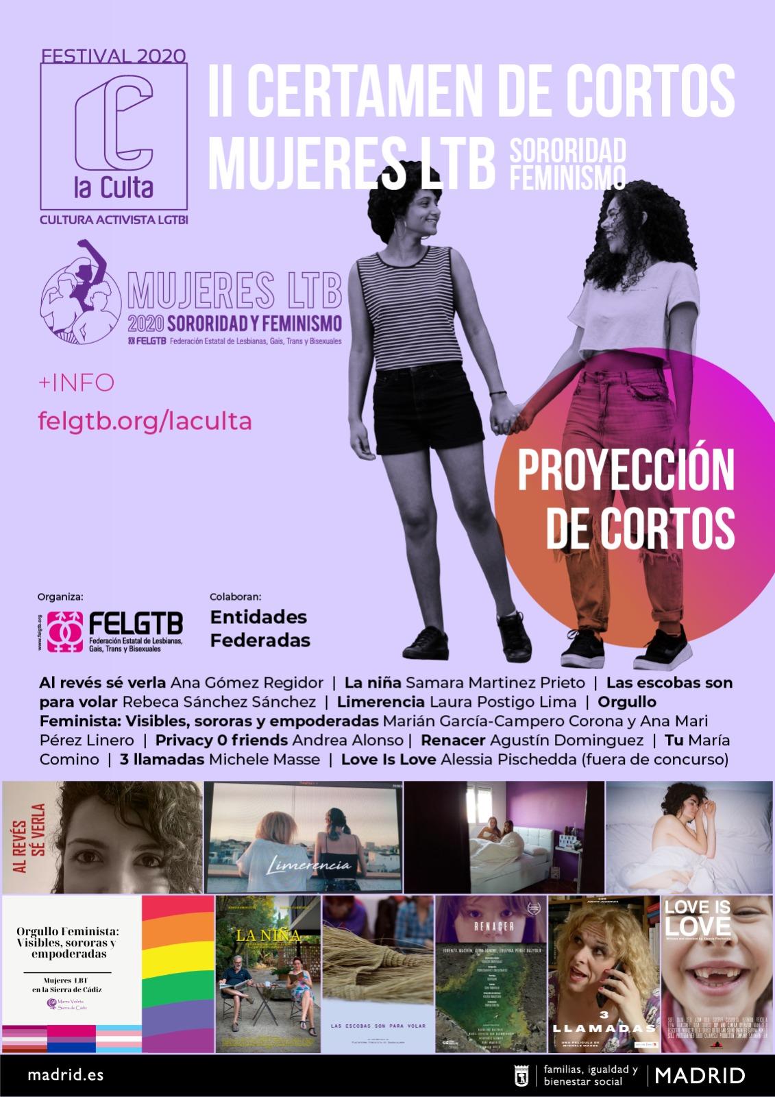 cartel festival cortos LGTB