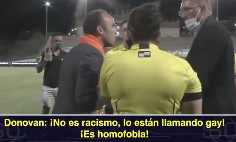 Homofobia estados unidos futbol