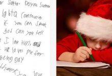 Photo of Un niño le pregunta a Santa Claus si Dios le quiere por ser gay