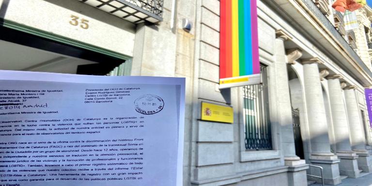 Observatorio Homofobia Irene Montero