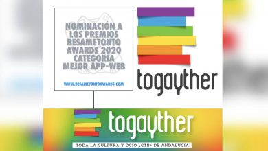 Photo of Togayther: Mejor App/Web LGTB 2020 en los premios Besametonto Awards
