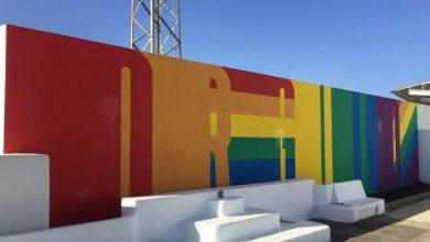Photo of Agresión LGTBfóbica a un mural LGTB+ en Lanzarote