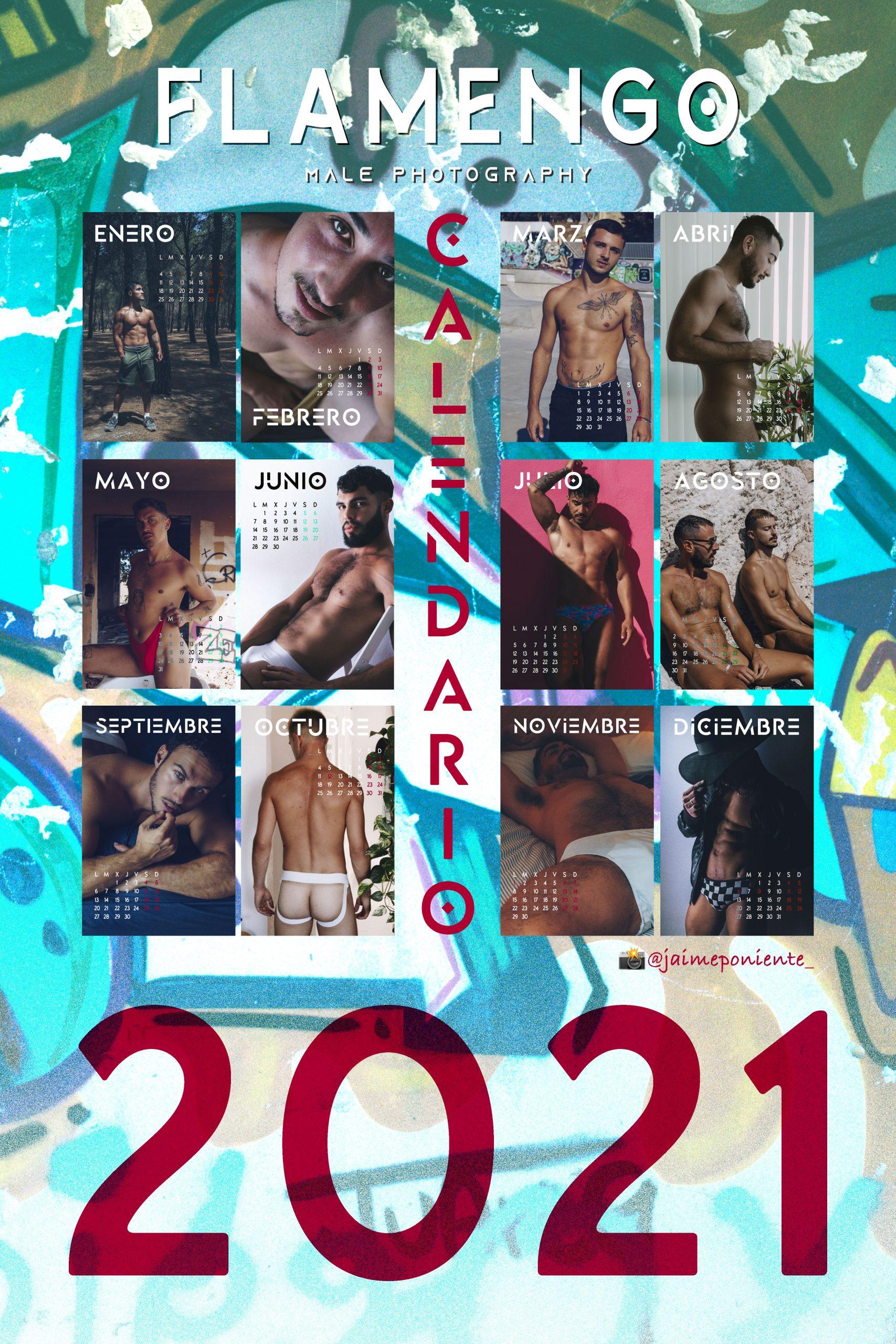 FLAMENGO Photo calendario