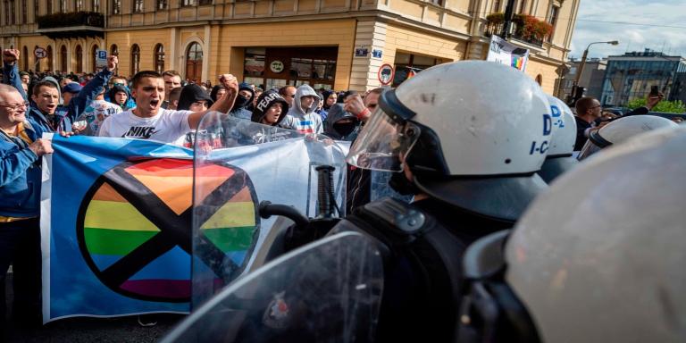 Disturbios Polonia