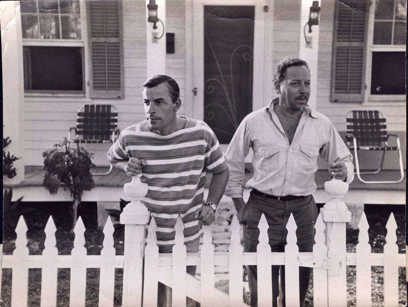 Frank Merlo y Tennesse Williams