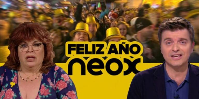 Marc Giro y Paca la Piraña Feliz año Neox