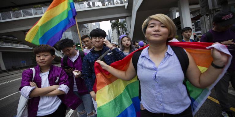 Parejas LGTB+en China