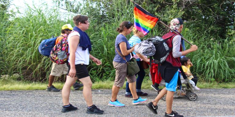 Migrantes LGTB Centro de acogida LGTB+