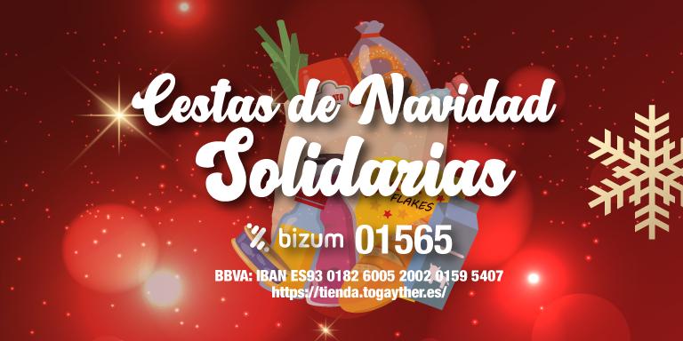 Cestas de navidad solidarias