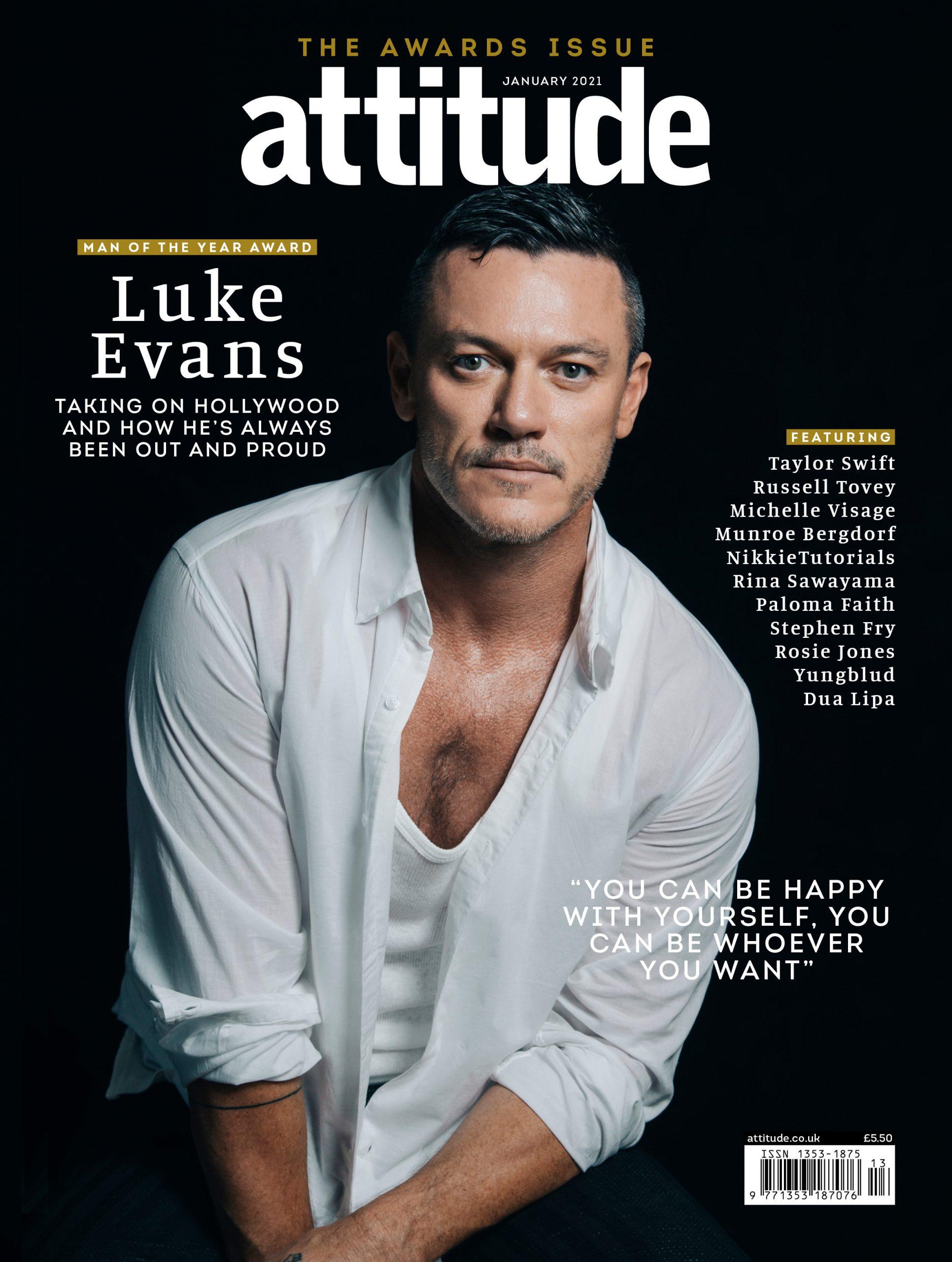 Luke Evans Hombre del Año