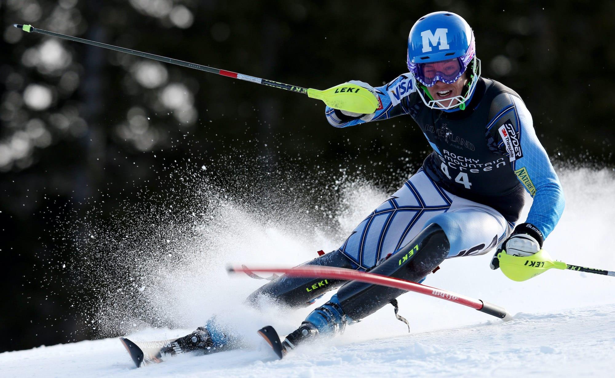 Hig Roberts campeon de esqui