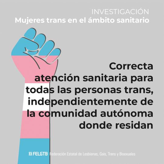 Atencion sanitaria personas trans