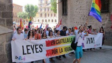 manifestacion toledo. Ley LGTB+ de Castilla-La Mancha