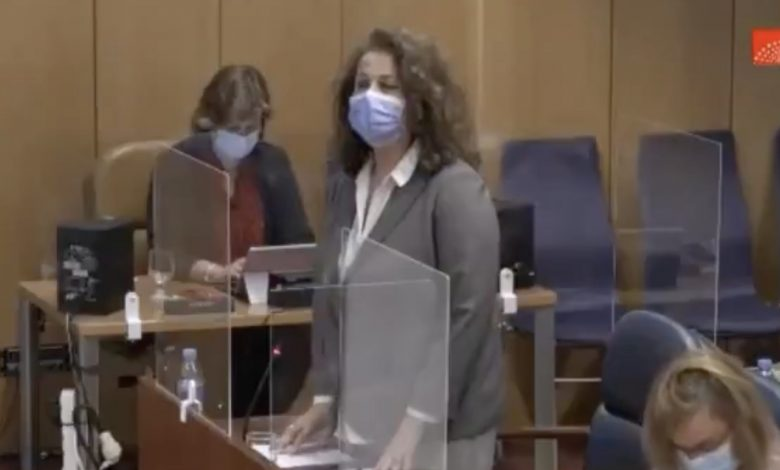 Carla Antonelli Transfobia Vox Asamblea de Madrid