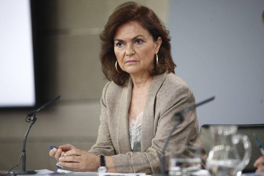 Carmen Calvo - Vicepresidenta del Gobierno