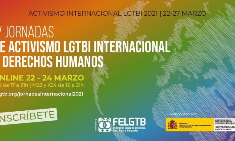 IV Jornadas de Activismo LGTBI Internacional y Derechos Humanos