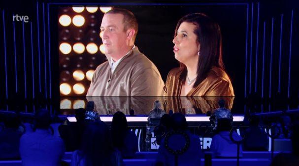 Los padres de Freddy durante el programa de 'The Dancer'