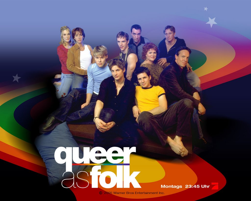 Cartel promocional de una de las temporadas de 'Queer as Folk'