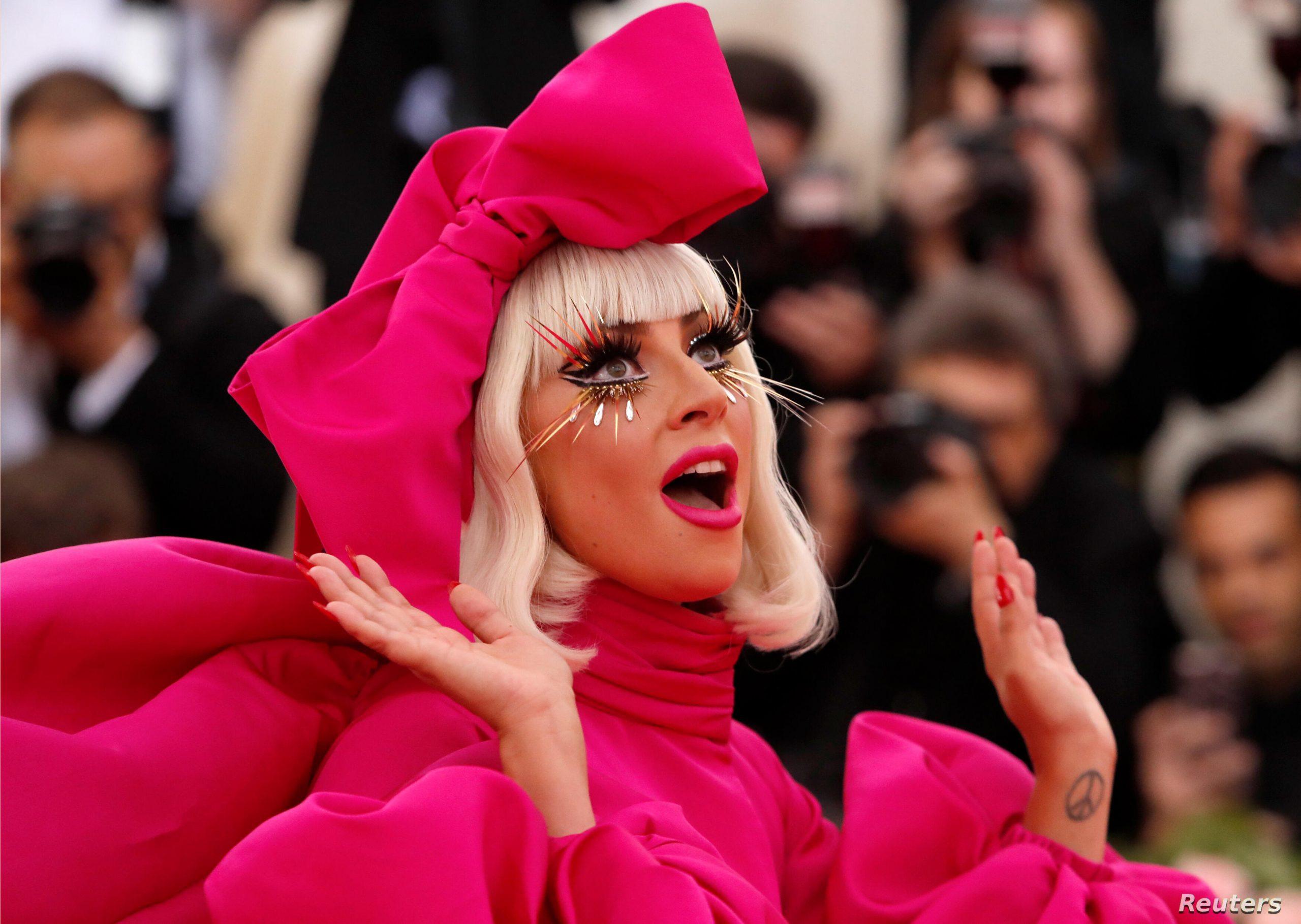 Lady Gaga en una gala de premios