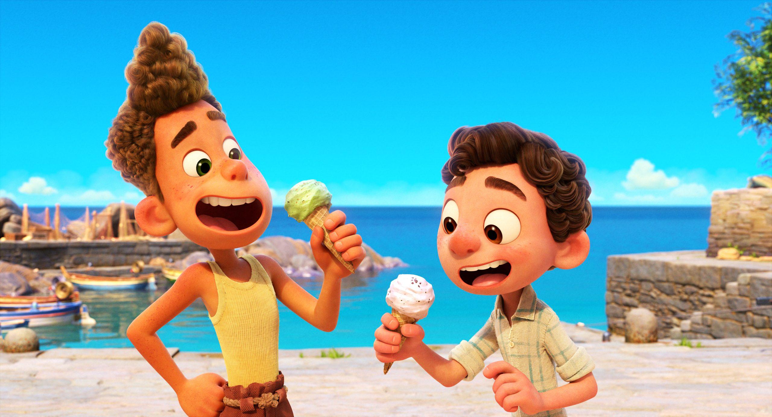 Luca Pixar Disney