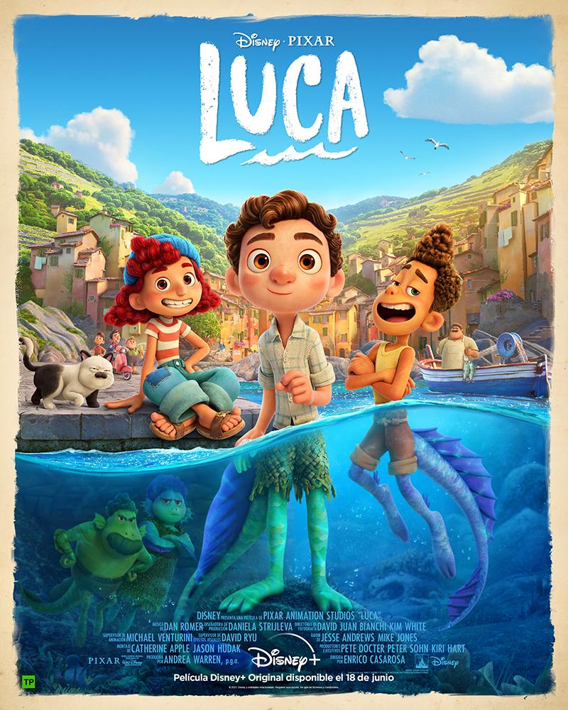 Luca Pixar Disney+