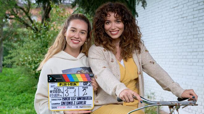 Luimelia cuarta temporada. Paula Usero y Carol Rovira