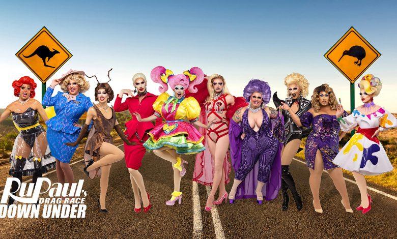 Concursantes de RuPaul's Drag Race Down Under