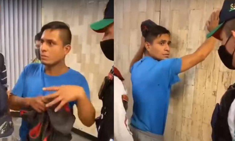 Homofobia en mexico. Presunto agresor en CDMX