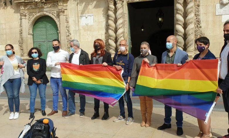 Concentraciones en repulsa de la homofobia